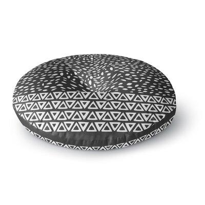 Pom Graphic Design Wind Night Round Floor Pillow Size: 23 x 23