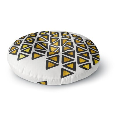 Pom Graphic Design Inca Tribe Round Floor Pillow Size: 26 x 26
