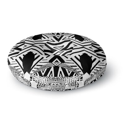 Pom Graphic Design Africa Round Floor Pillow Size: 23 x 23