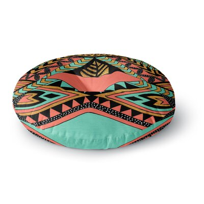 Pom Graphic Design PeruNative Round Floor Pillow Size: 26 x 26