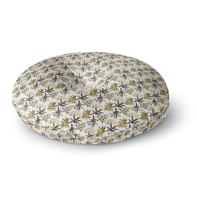 Pom Graphic Design Golden Apothecary Round Floor Pillow Size: 23 x 23