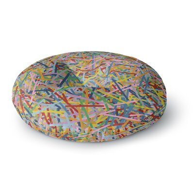 Project M More Sprinkles Round Floor Pillow Size: 23 x 23