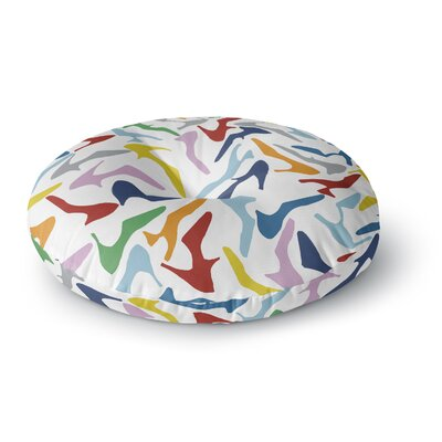 Project M Shoe Round Floor Pillow Size: 23 x 23