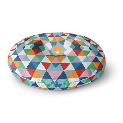 Project M Geometric Round Floor Pillow Size: 26 x 26