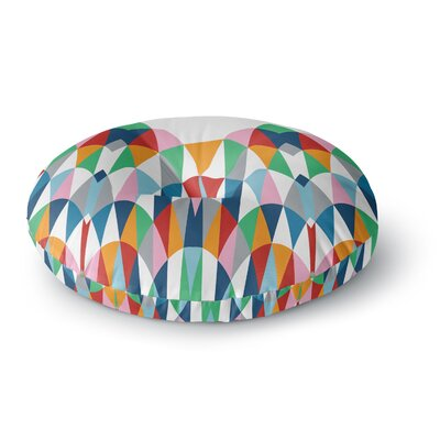Project M Modern Day Arches Round Floor Pillow Size: 26 x 26