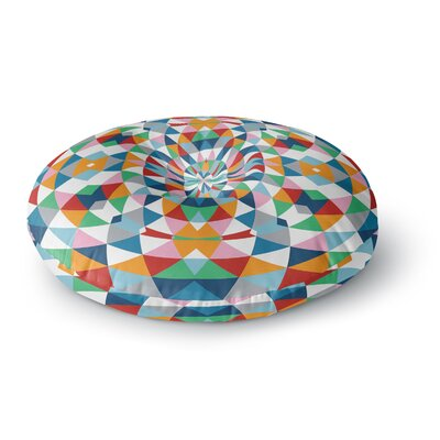 Project M Modern Day Round Floor Pillow Size: 26 x 26