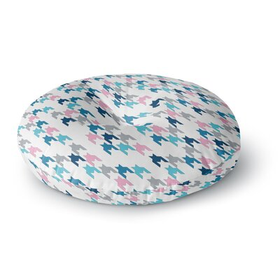 Project M Pink Tooth Blush Round Floor Pillow Size: 26 x 26