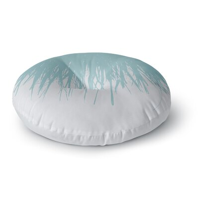 Project M Fringe Salt Digital Round Floor Pillow Size: 26 x 26