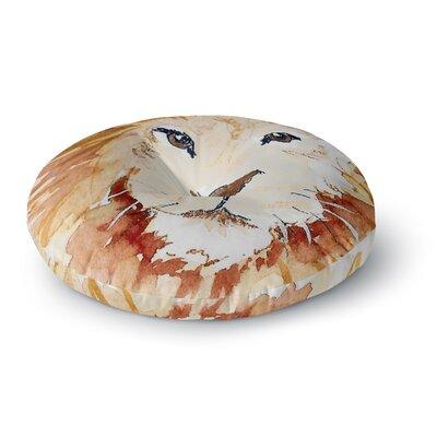 Padgett Mason Leo Round Floor Pillow Size: 26 x 26