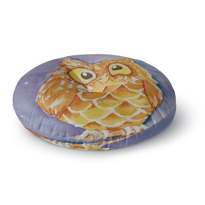 Padgett Mason Little Hoot Round Floor Pillow Size: 26 x 26