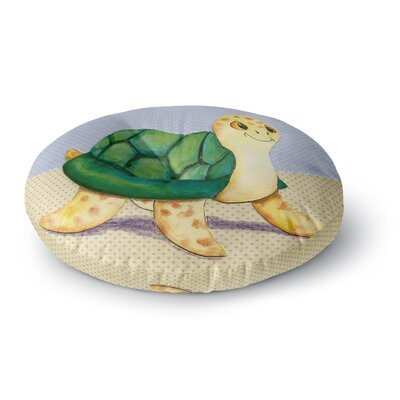Padgett Mason Slow and Steady Round Floor Pillow Size: 26 x 26