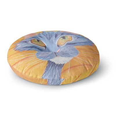 Padgett Mason Tell Me More Round Floor Pillow Size: 26 x 26