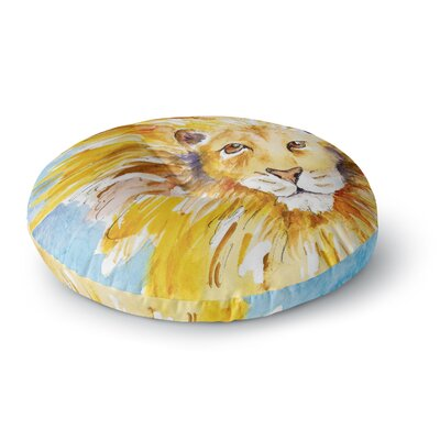 Padgett Mason Wild One Round Floor Pillow Size: 26 x 26