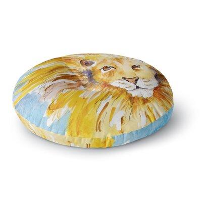 Padgett Mason Wild One Round Floor Pillow Size: 23 x 23