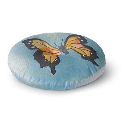 Padgett Mason Summer Flutter Round Floor Pillow Size: 26 x 26