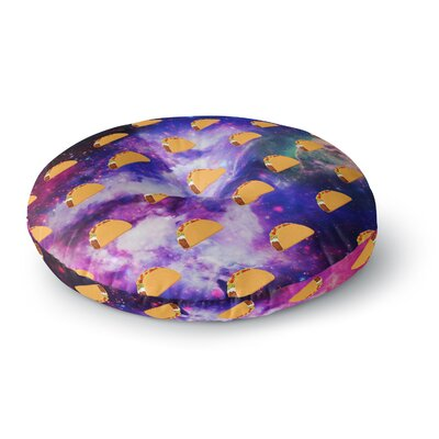 Juan Paolo Taco Galaxy Round Floor Pillow Size: 26 x 26