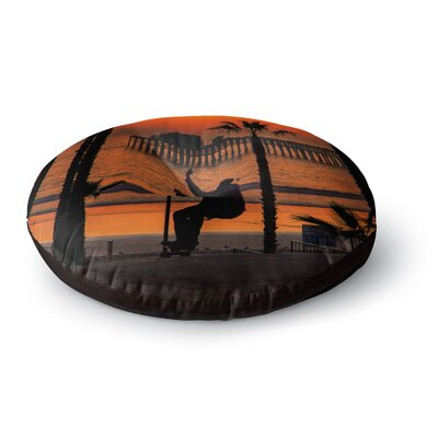 Juan Paolo Endless Summer Round Floor Pillow Size: 23 x 23
