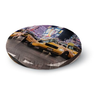 Juan Paolo Rush Hour Travel Urban Round Floor Pillow Size: 23 x 23
