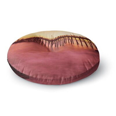 Juan Paolo Ocean Dreams Round Floor Pillow Size: 26 x 26