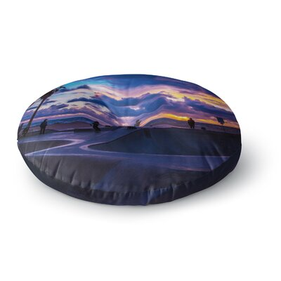 Juan Paolo Dogtown Round Floor Pillow Size: 23 x 23
