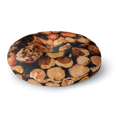 Juan Paolo The Lumber Yard Round Floor Pillow Size: 26 x 26