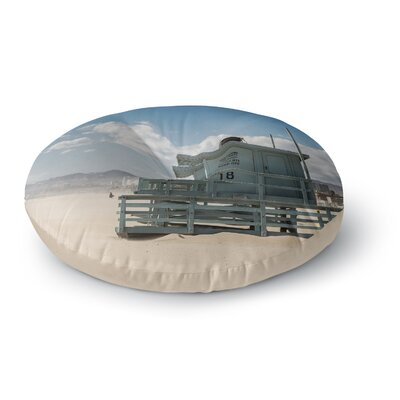 Juan Paolo No Lifeguard on Duty Round Floor Pillow Size: 23 x 23