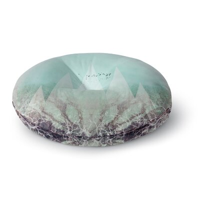 Pia Schneider TREES Under MAGIC MOUNTAINS VI Round Floor Pillow Size: 26 x 26