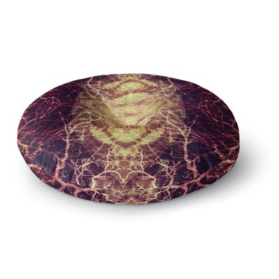 Pia Schneider Burning Roots IV Celestial Round Floor Pillow Size: 23 x 23