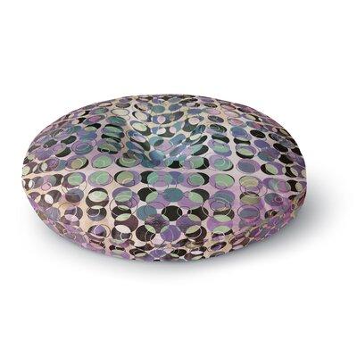 Pia Schneider Melange of Circles III Round Floor Pillow Size: 23 x 23