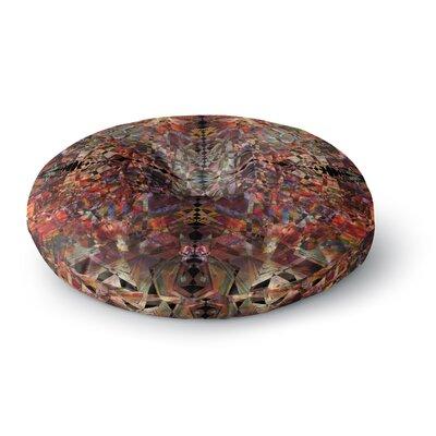 Pia Schneider Mosaic - I Vector Round Floor Pillow Size: 26 x 26