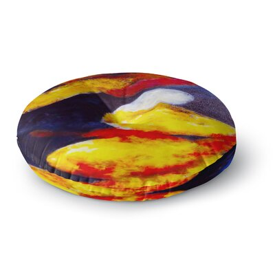 Rosie Brown Into the Light Round Floor Pillow Size: 23 x 23