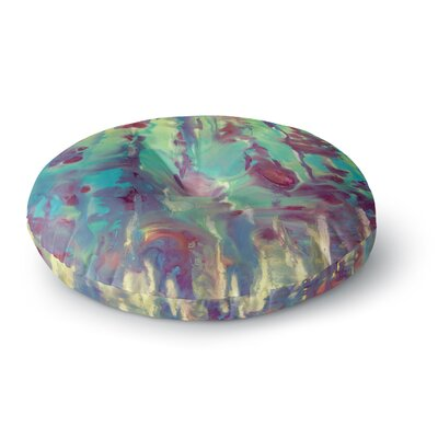 Rosie Brown Splash Round Floor Pillow Size: 23 x 23