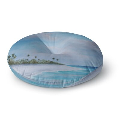 Rosie Brown Carefree Carribean Round Floor Pillow Size: 26 x 26