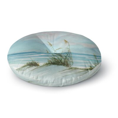 Rosie Brown Sea Oats Round Floor Pillow Size: 26 x 26