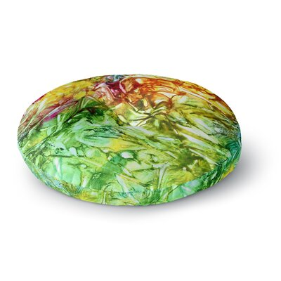 Rosie Brown Kaleidoscope Round Floor Pillow Size: 26 x 26