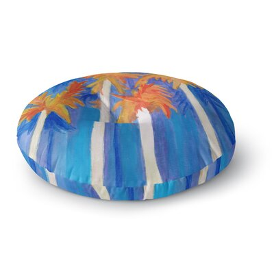 Rosie Brown Florida Autumn Round Floor Pillow Size: 23 x 23