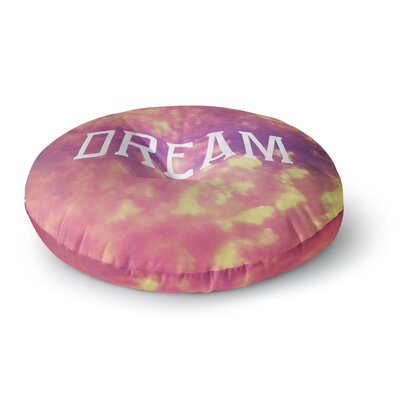 Rachel Burbee Dream Round Floor Pillow Size: 23 x 23