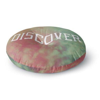 Rachel Burbee Discover Round Floor Pillow Size: 26 x 26