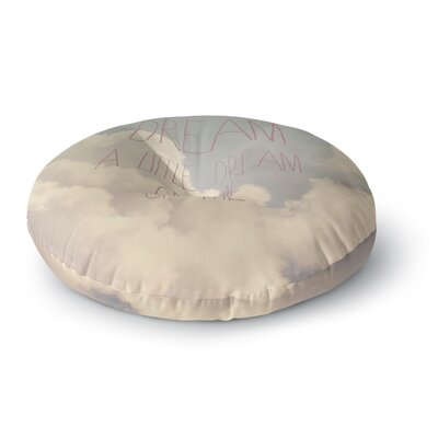 Rachel Burbee Dream of Me Round Floor Pillow Size: 23 x 23
