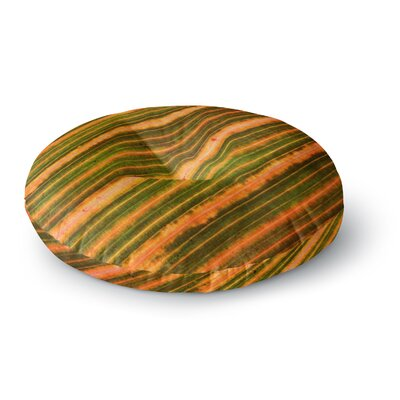 Richard Casillas Ferns Round Floor Pillow Size: 23 x 23