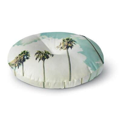 Richard Casillas Paradise and Heaven Round Floor Pillow Size: 26 x 26