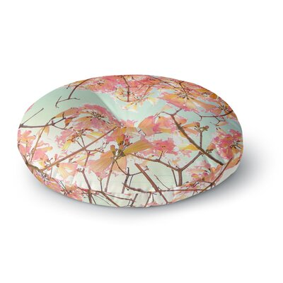 Richard Casillas Spring Splendor Round Floor Pillow Size: 26 x 26