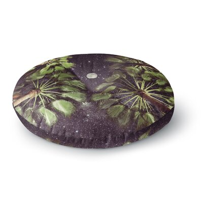 Richard Casillas Elevated Paradise Round Floor Pillow Size: 26 x 26