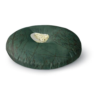 Robin Dickinson Kiss Me Goodnight Round Floor Pillow Size: 26 x 26