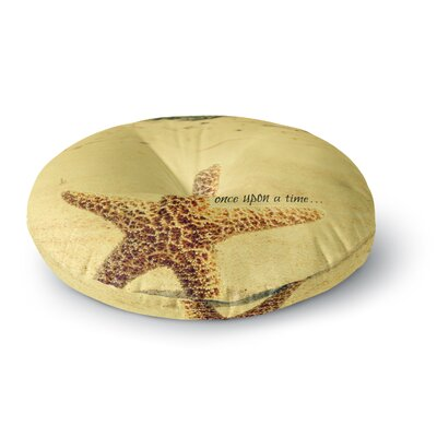Robin Dickinson Once upon a Time Starfish Round Floor Pillow Size: 26 x 26