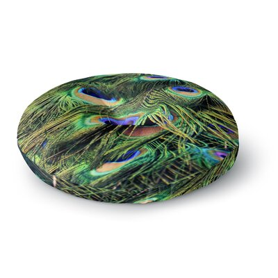 Robin Dickinson You Are Beautiful Round Floor Pillow Size: 23 x 23
