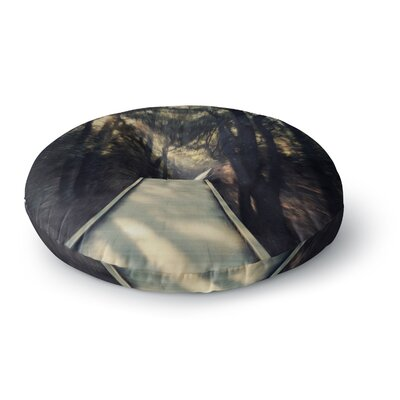Robin Dickinson Dream Worthy Round Floor Pillow Size: 26 x 26