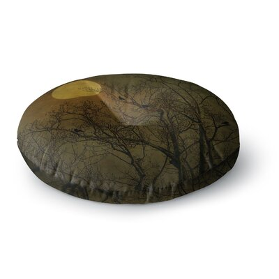 Robin Dickinson Starry Night Round Floor Pillow Size: 26 x 26
