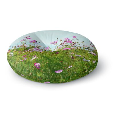 Robin Dickinson I Choose Magic Flowers Round Floor Pillow Size: 26 x 26
