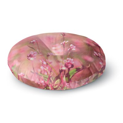 Robin Dickinson Its a Sweet Sweet Life Flowers Round Floor Pillow Size: 26 x 26